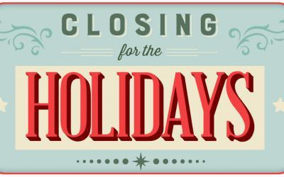 Workshop is closing for our summer break
