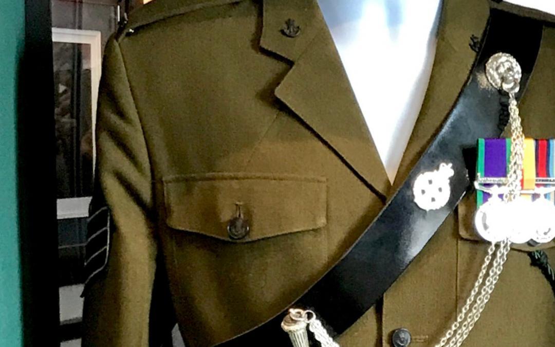 Box Framing a British Military No2's Uniform Jacket